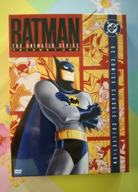 BATMAN LA SERIE ANIMATA VOL.01 (BOX DIGIPACK_4 DVD) EDIZIONE ITALIANA