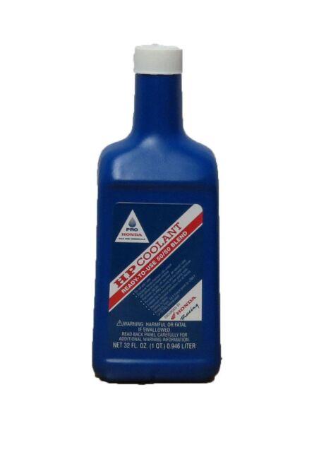 Genuine Pro Honda HP Coolant 50/50 Blend Antifreeze CRF450R CRF250R TRX450R