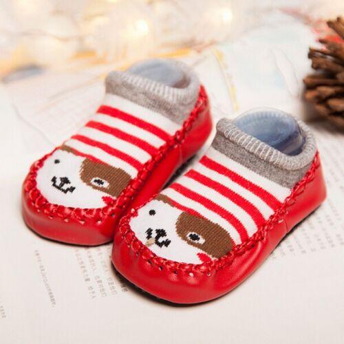 Bébé Chaussettes Non-glissement Cartoon Children/'s Slipper Infant Toddler Chaussures
