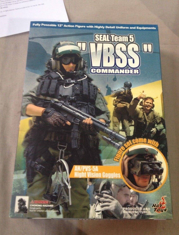 Hot Toys 1 6 Scale 12  US US US Seal Team 5 VBSS Commander Action Figure 1af590
