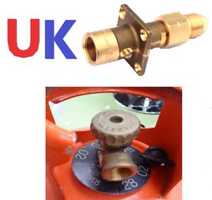 UK POL RED BOTTLE ADAPTER UK Bayonet LPG Filler to Calor Bottle Adapter SET