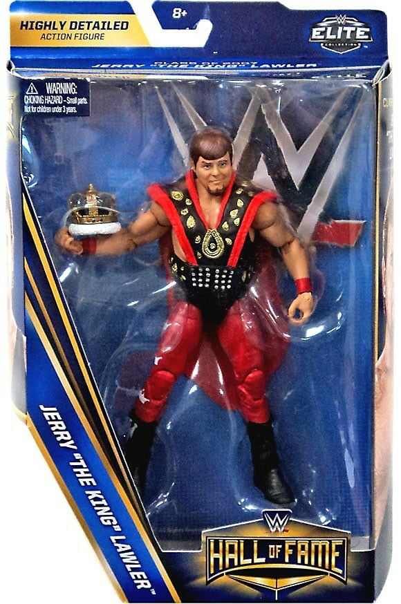 Elite Hall of Fame Class of 2007 Jerry The King Lawler Action Figure