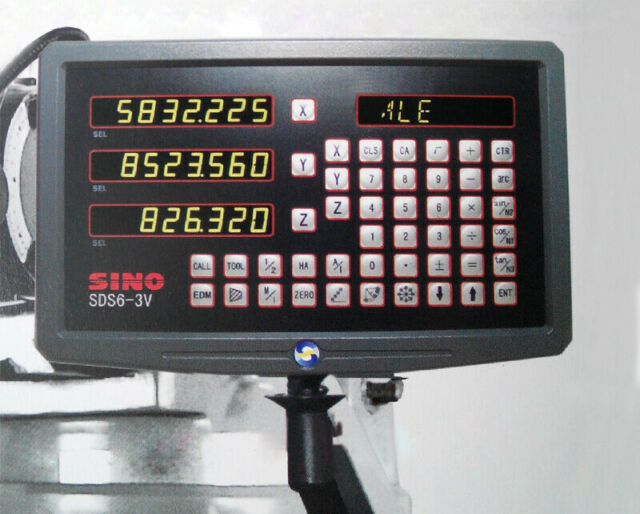 Sino Sds6 3v Multifunctional 3 Coordinate Digital Readout 3 Axis DRO