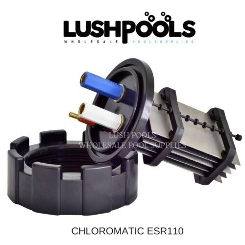 CHLOROMATIC 5 YEAR Warranty AQUACHLOR ESR110 Chlorinator Cell