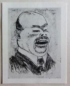 Georg-Tappert-1880-1957-Kunstdruck-von-Lithographie-von-1911-Roda-Roda