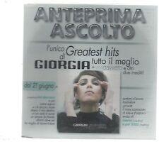 GIORGIA ANTEPRIMA ASCOLTO GREATEST HITS  CD PROMO