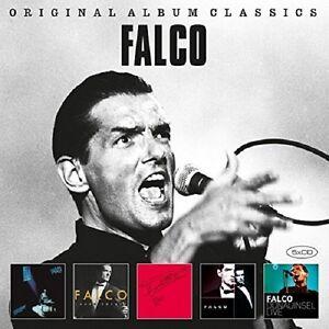 FALCO-ORIGINAL-ALBUM-CLASSICS-5-CD-NEUF