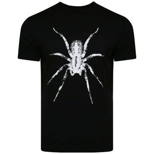 3XL Men/'s Lanvin Spider T-Shirt Skinny Fit Crew Neck Short Sleeve Navy White M