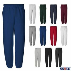 Jerzees Mens NuBlend Fleece Relaxed Fit Sweatpants