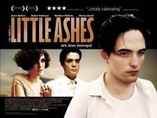 LITTLE ASHES Movie POSTER 27x40 UK Adria Allue Sim n Andreu Rub n Arroyo Ferran