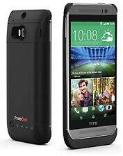 PowerBear HTC M8 Extended 3200mAh Rechargeable Battery Charger Case Powerbank