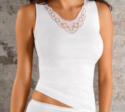 Fine Cotton Achselhemd Unterwäsche Unterhemd Top Damen 70300220 Nina von C