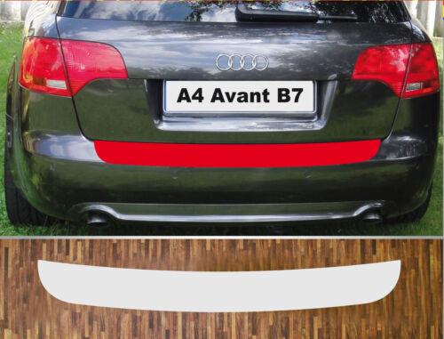 Anno 04-08 PARAURTI Pellicola Protezione Vernice Trasparente Audi a4 b7 Avant