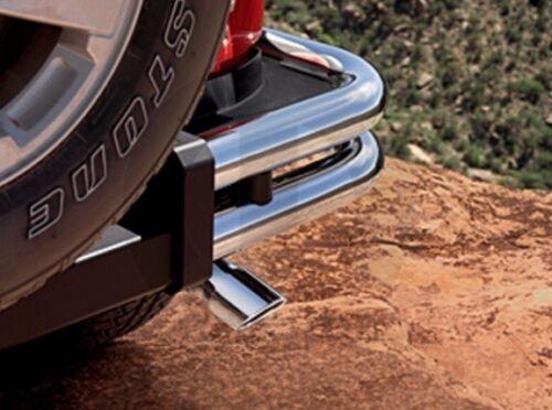 07-15 Jeep Wrangler New Chrome Stainless Steel Exhaust Tip Mopar Factory Oem