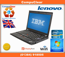 "LENOVO THINKPAD X220 12.1"" LAPTOP CORE i5 2.5GHz 4GB RAM 320GB WIN 7, 5"
