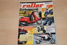 71613) Honda SH 125i- Vespa LX 125 - Roller 04/2005