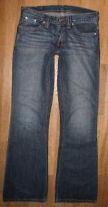 Bas-Rider Levi `S Femmes- Bootcut- Jeans 529 / Pantalon à Pattes D'Éléphants En