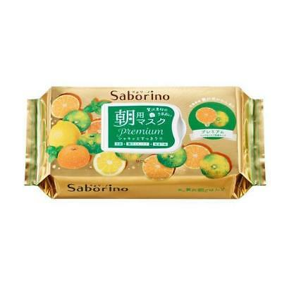 Health & Beauty bcl Saborino Premium Morning Care 3 In 1 Tropical Lemon Facial Mask 28pcs/1pk Selling Well All Over The World