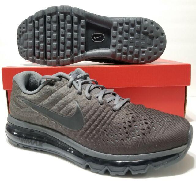 d274a2b289 NIKE AIR MAX 2017 Running Training Shoe Cool Grey Dark Grey 849559 008 Size  10.5