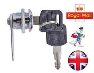 Cam-Lock-for-Door-Cabinet-Mailbox-Drawer-Cupboard-16mm-20mm-25mm-30mm-2-Keys-UK