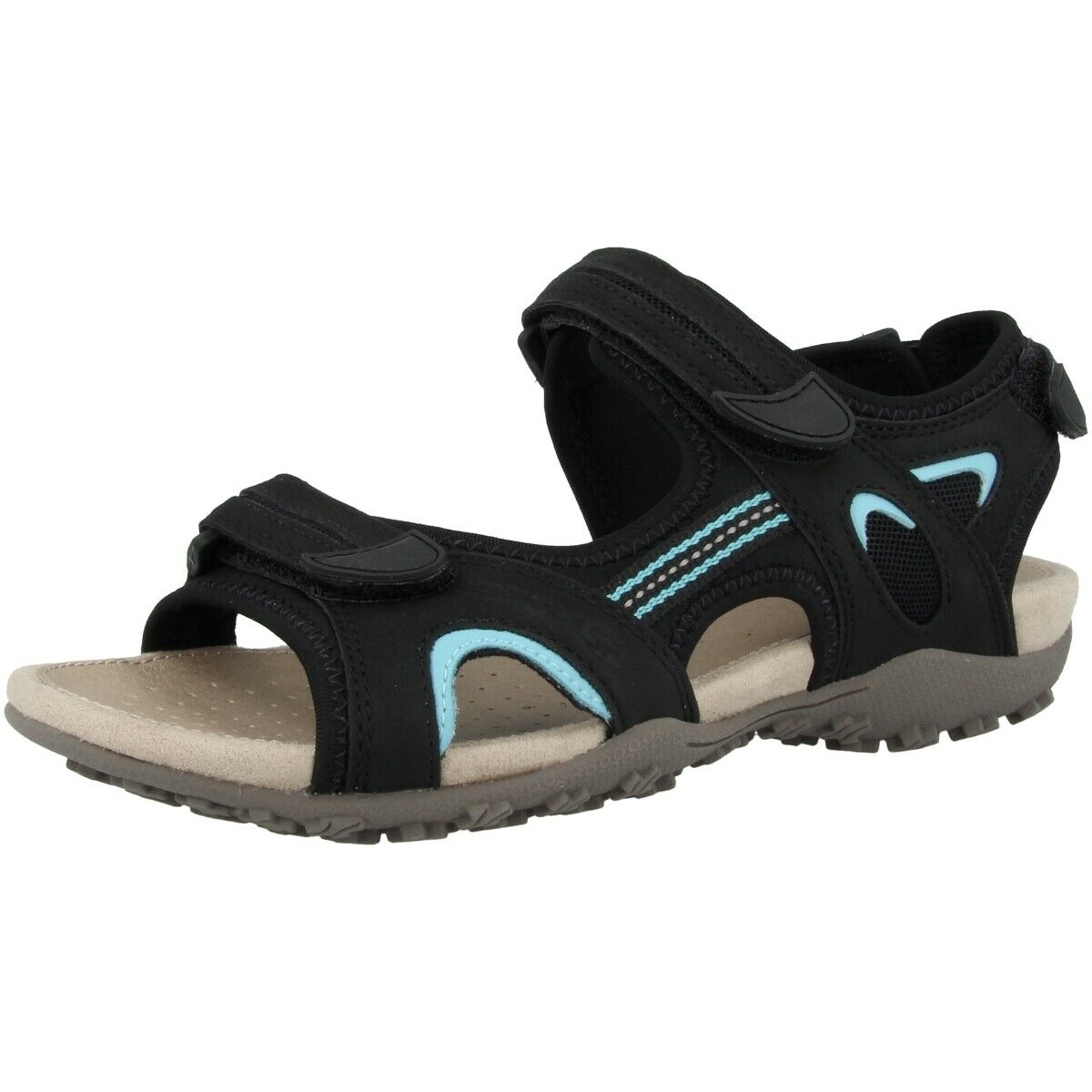 Geox D  SAND. Strel B shoes Womens Sandals Outdoor Sandals D9225B0EK15C9999  hot sports