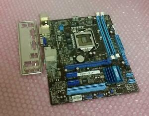 ASUS-P8H61-M-LX2-Socket-LGA-1155-DDR3-placa-madre-con-la-placa-trasera