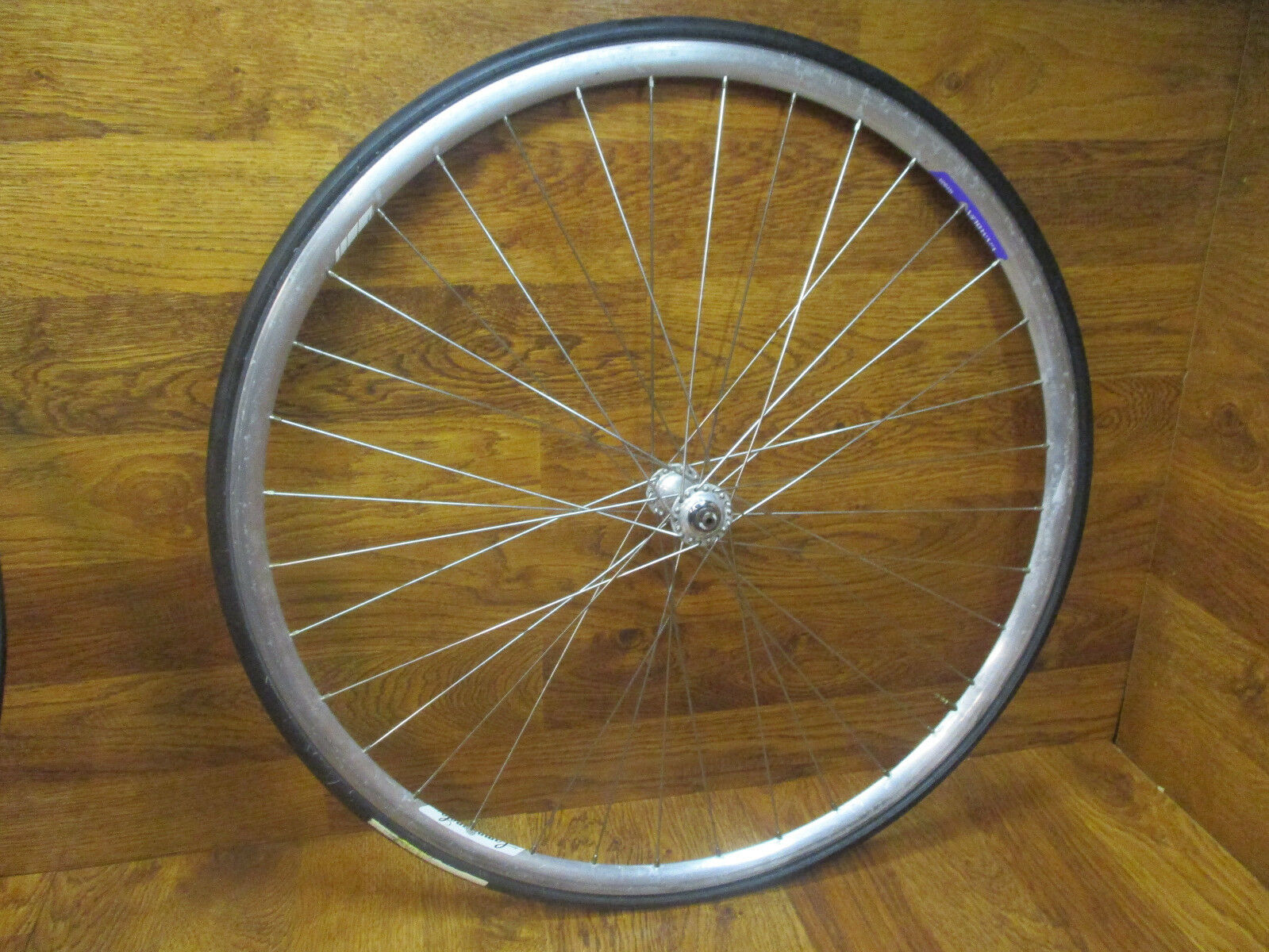 VINTAGE CAMPAGNOLO RECORD 36H LAMBDA STRADA 700C  CLINCHER FRONT WHEEL  for cheap