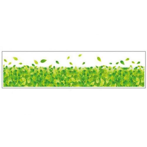Removable Grass and Flower Wall Sticker Art Vinyl Decal Mural Home Bedroom Decor