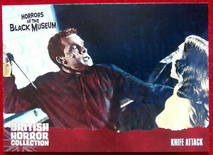 BRITISH-HORROR-COLLECTION-Horrors-of-the-Black-Museum-KNIFE-ATTACK-Card-32