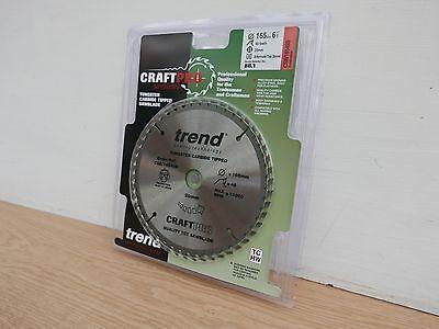 TREND 165 mm 48 T 2 mm trait de scie TCT DEWALT MAKITA BOSCH Plunge Lame de scie FT//165X48X20