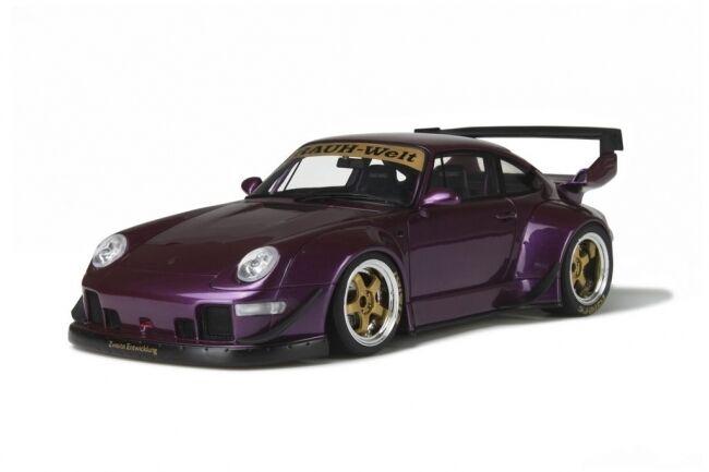 Porsche 993 RWB  - Violet - 1 18 - GT727 - Limited Edition - neuve  plus vendu