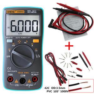 Digital-Multimeter-metros-Fluke-voltios-tester-Backlight-ac-dc-Voltmeter-Portable