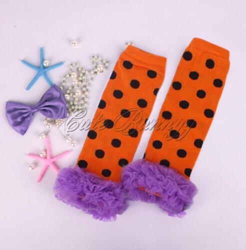 Mignon Pour Bébé Filles Legging Chaussettes Coton Volants Kneepad Floral Jambières