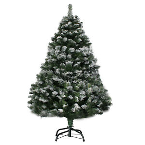 weihnachtsbaum 180cm mit schnee effekt led christbaum. Black Bedroom Furniture Sets. Home Design Ideas
