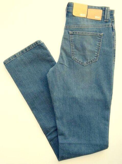 MAC Jeans ANGELA Blue Denim Stretch  blau Slim Fit  NEU