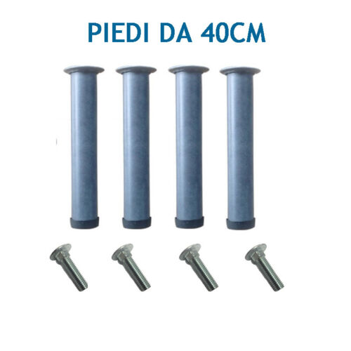 Network Iron Feet Orthopedic Replacement Legs 40cm height for bed with bolts