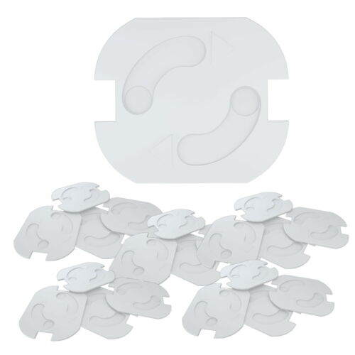 10 - 50 Stück Steckdosensicherung Steckdose Kindersicherung Steckdosenschutz