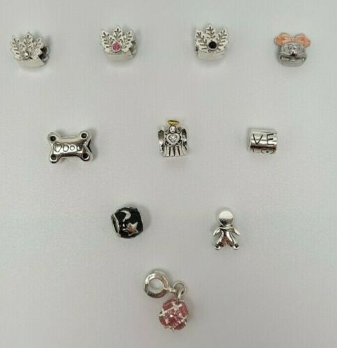 Charms European Bracelet Sterling Silver 925 Bead Pendant Mix Gift Fit NEW UK