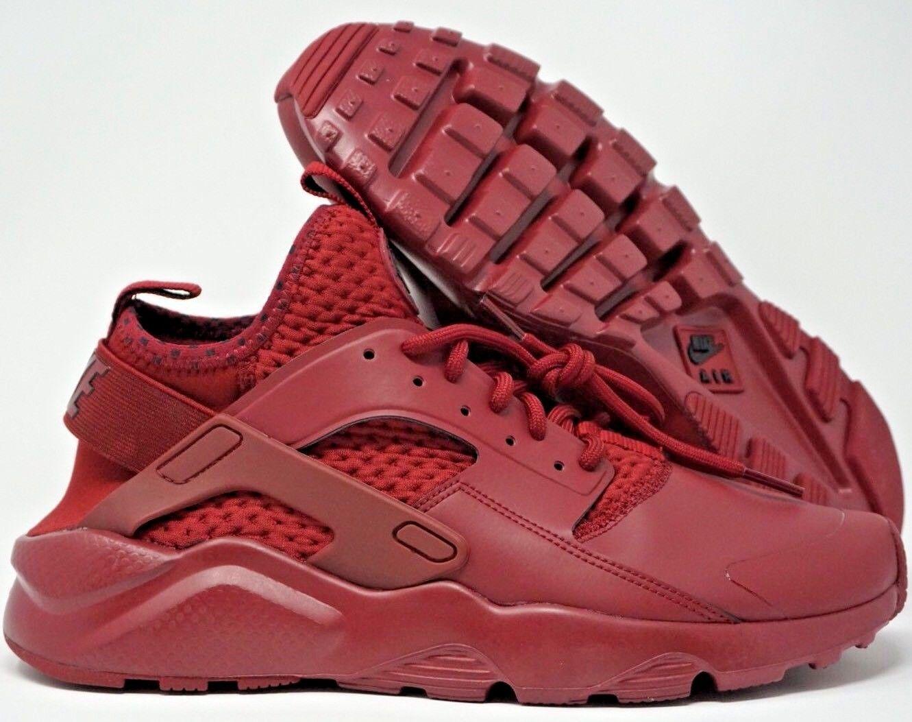 Nike Huarache Run Ultra SE Mens Running Shoes Team Red Black Maroon Comfortable Wild casual shoes