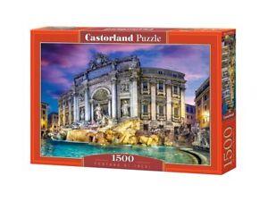 """Castorland Puzzle 1500 Pieces - Fontana di Trevi - 27""""x18.5"""" Sealed box C-151479"""