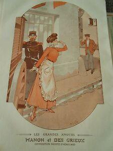 Les-Grandes-Amours-Manon-et-Des-Grieux-Print-Art-deco