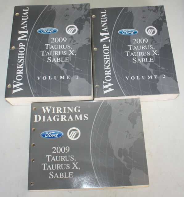 2009 Ford Taurus Mercury Sable Workshop Manuals  U0026 Wiring