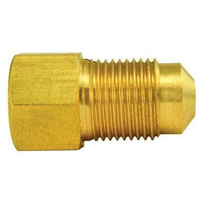 Male 1//card M10x1.0 Bubble 3//8-24 Inverted Female Brass Adapter