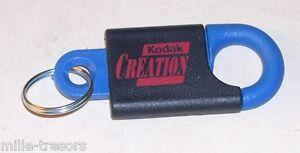 Porte-clefs-KODAK-Du-type-mousqueton-KODAK-Creation-Modele-BLEU