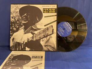 CAT IRON SINGS BLUES FOLKWAY FA 2389 INSERT ORIGINAL USA LP EXC+