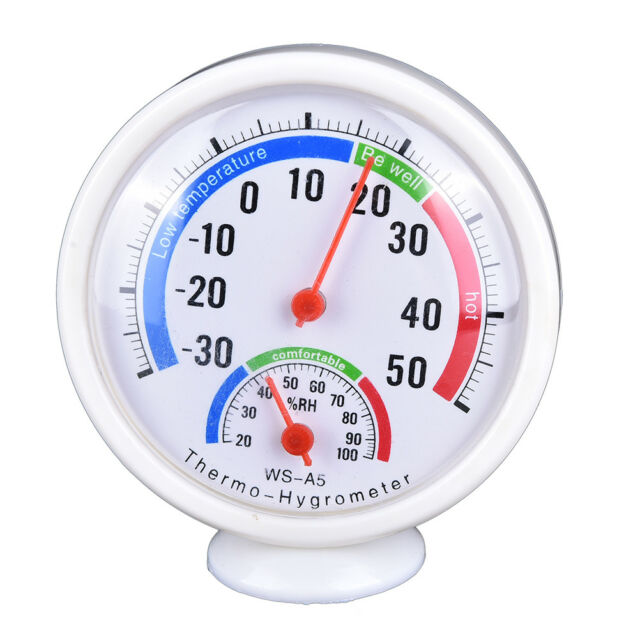 Digital Indoor Outdoor LCD Thermometer Hygrometer Temperature Humidity Meter_AU