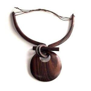 Handmade-Accessories-Organic-Wood-Pendant-Necklace-Art-Design-NSH10