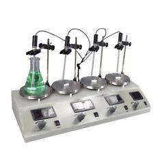 4 Head Magnetic Stirrer Hotplate Stirrers Labware Stailness 110v 800w