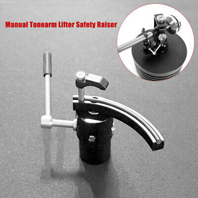Manual Tonearm Lifter Safety Raiser For LP Turntable Disc Vinyl Record Player