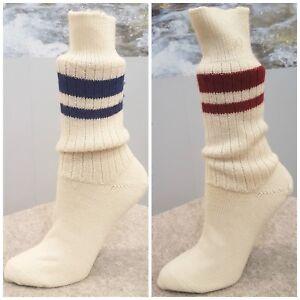 3a6ebf013ced60 Details zu HIRSCH Natur Wollsocken reine bio Schurwolle Vintage Socken  Sport Fitness Tennis